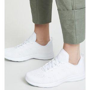 APL TechLoom Pro Shoe White/Metallic Pearl NIB